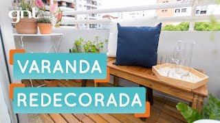 Dicas para redecorar a varanda | Antes e Depois | Decora | Maurício Arruda