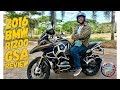 Why this is one of the best Motorbikes to own! 2016 BMW R1200 GSA REVIEW: Woods Custom 78