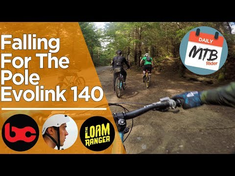 Riding the Pole Evolink 140 with Jordan Boostmaster, Loam Ranger, BCPOV & Daily MTB RIder - Part 2