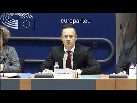 Magyarország LIBE meghallgatása - EU Parlament 2017.12.07.