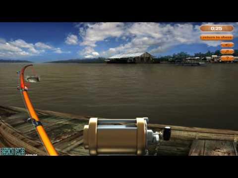 Sport Fishing -  PC Flash Gameplay