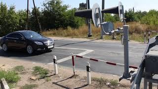 Многострадальный перезд в Сенном после капитального ремонта. 22.08.2017