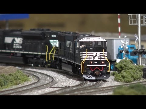 HO Scale Norfolk Southern Ethanol Train (64Q) w/ SD75M