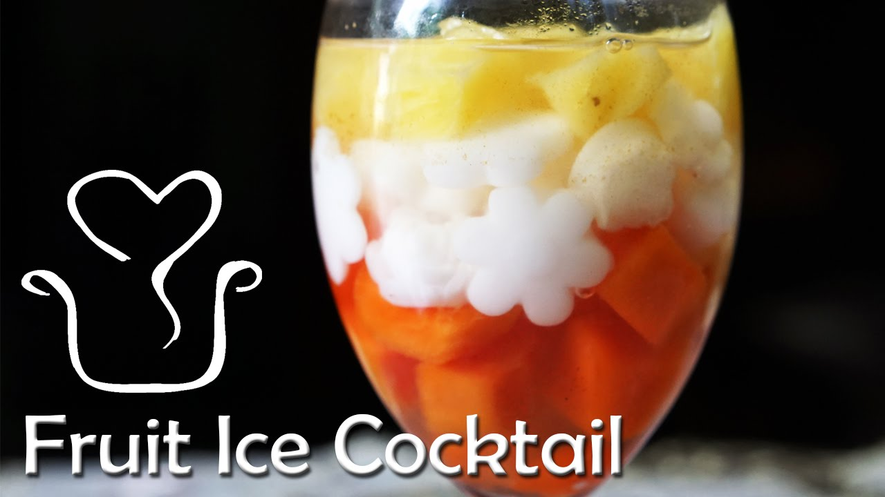 How To Make Fruit Cocktail Youtube