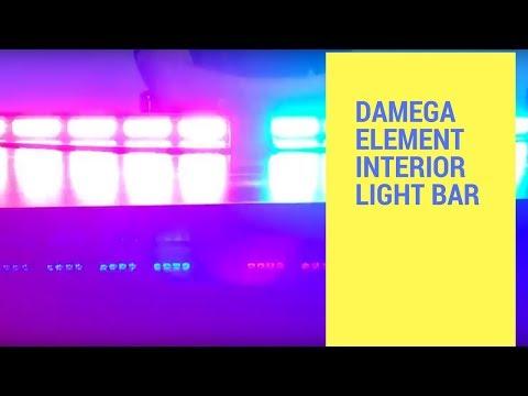 Damega Predecessor Interior Lightbar Demo By Responseps Doovi