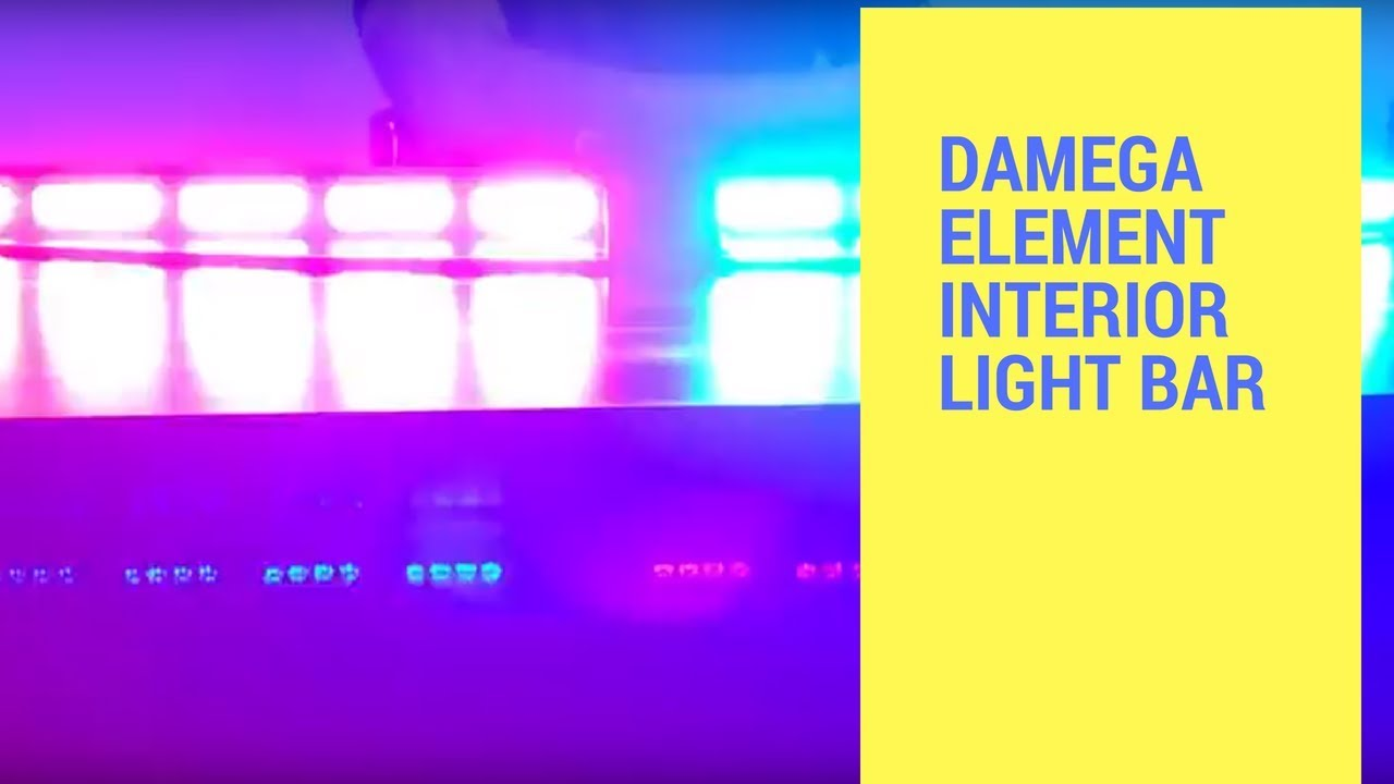 led outfitters undercover interior lightbars damega element interior light bar [ 1280 x 720 Pixel ]