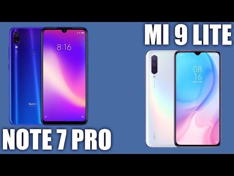 Xiaomi Mi 9 Lite vs Redmi Note 7 Pro. Кто сильнее ?