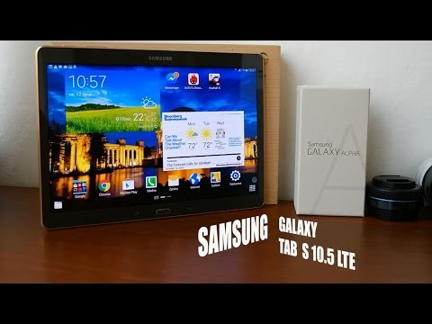Samsung Galaxy Tab S 10.5 LTE - preview