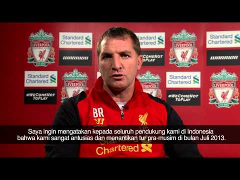 Brendan Rodgers: See you in Jakarta!