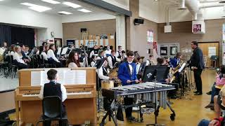 CMS Spring Concert - Jazz Band 1