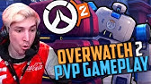 XQC OVERWATCH 2 FIRST LOOK AT NEW PVP PUSH MODE!
