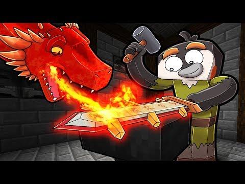Secret WAY To Craft DRAGON STEEL! (Minecraft Dragons)