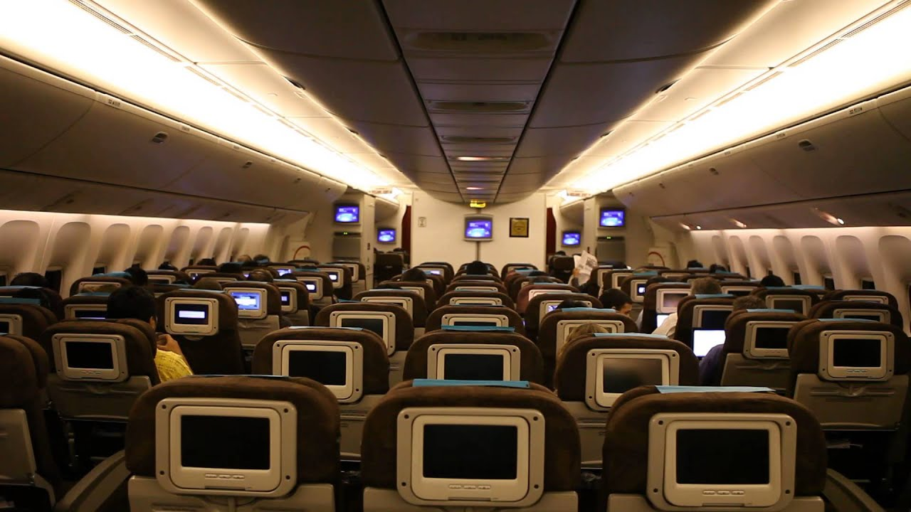 Boeing 777 interior economy the image for Boeing 777 interior