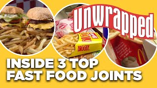 Behind-the-Scenes At 3 TOP Fast-Food Burger Joints   Unwrapped   Food Network
