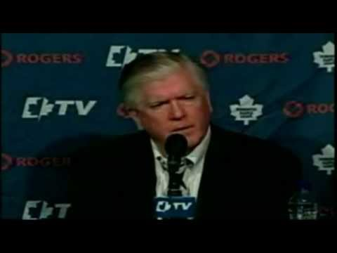 SPOOF - Brian Burke/Randy Carlyle Press Conference 03/03/12