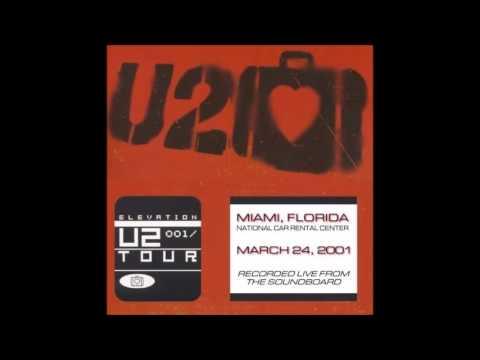U2 Live 3/24/2001 Ft. Lauderdale, Florida