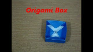 Origami Box designed by Origamimaster124 (Not a Tutorial) Thumbnail