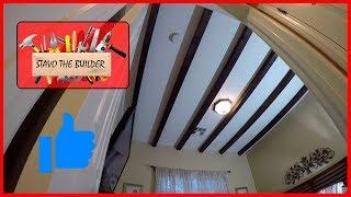 Como Instalar Vigas de Madera para Techo - How to Install Ceiling Beams