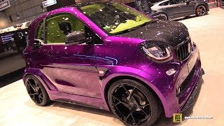 2019 Smart For Two Mansory Review - Exterior and Interior Walkaround - 2019 Geneva Motor Show