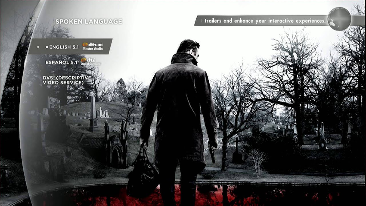 Download A Walk Among The Tombstones (2014) Blu-ray Menu Preview