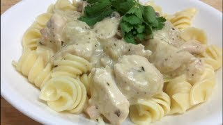 CREAMY CHICKEN PASTA - Todd's Kitchen