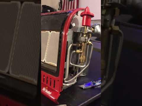 Big buddy heater will not stay lit! FIX