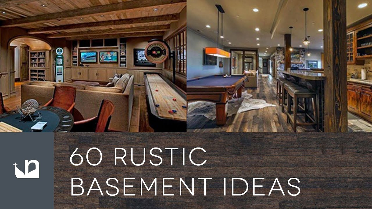60 Rustic Basement Ideas Youtube