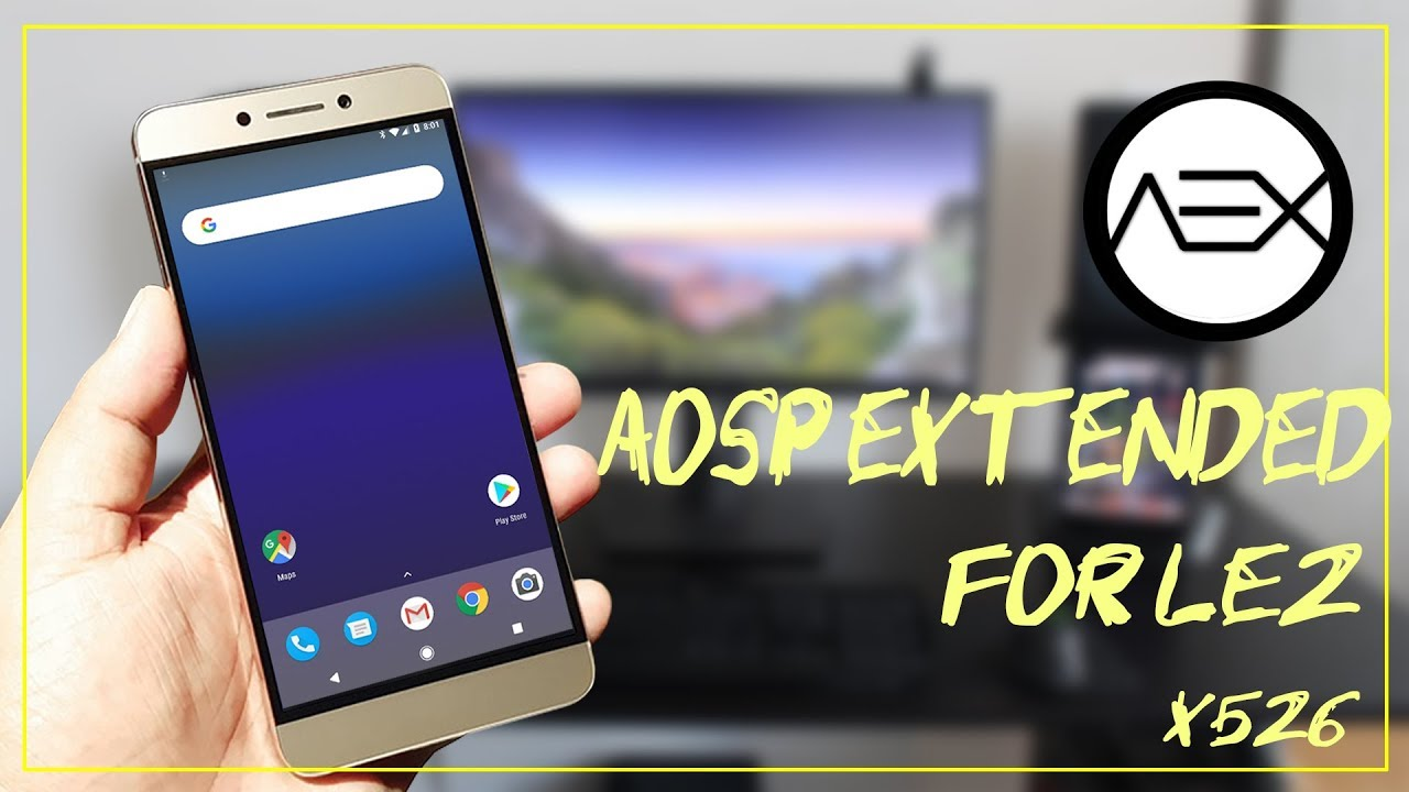 Pixel experience on your Le 2 -- AOSP extended ROM