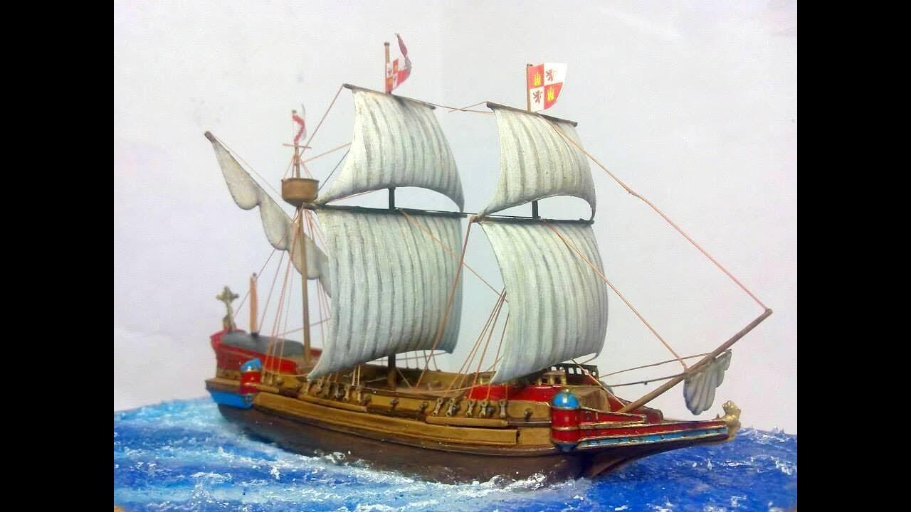 galeón español siglo xvi escala 1 450 spanish galleon xvi