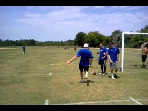 St. Louis Rams Punter Johnny Hekker - NFL Training