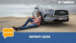 Infiniti QX50 2019 Review - Better than ever before? | YallaMotor.com