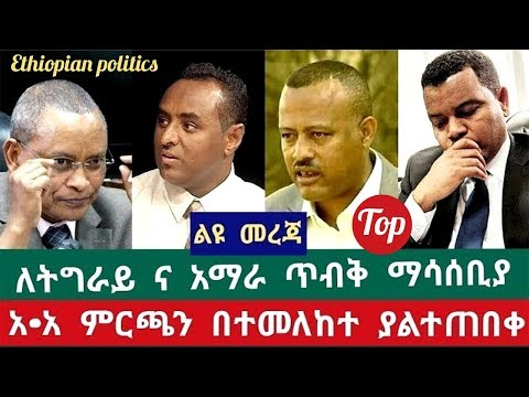 What is new on Addis Abeba Election