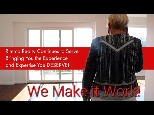 Rimma Realty Continues to Serve Bringing You the Experience and Expertise You Deserve