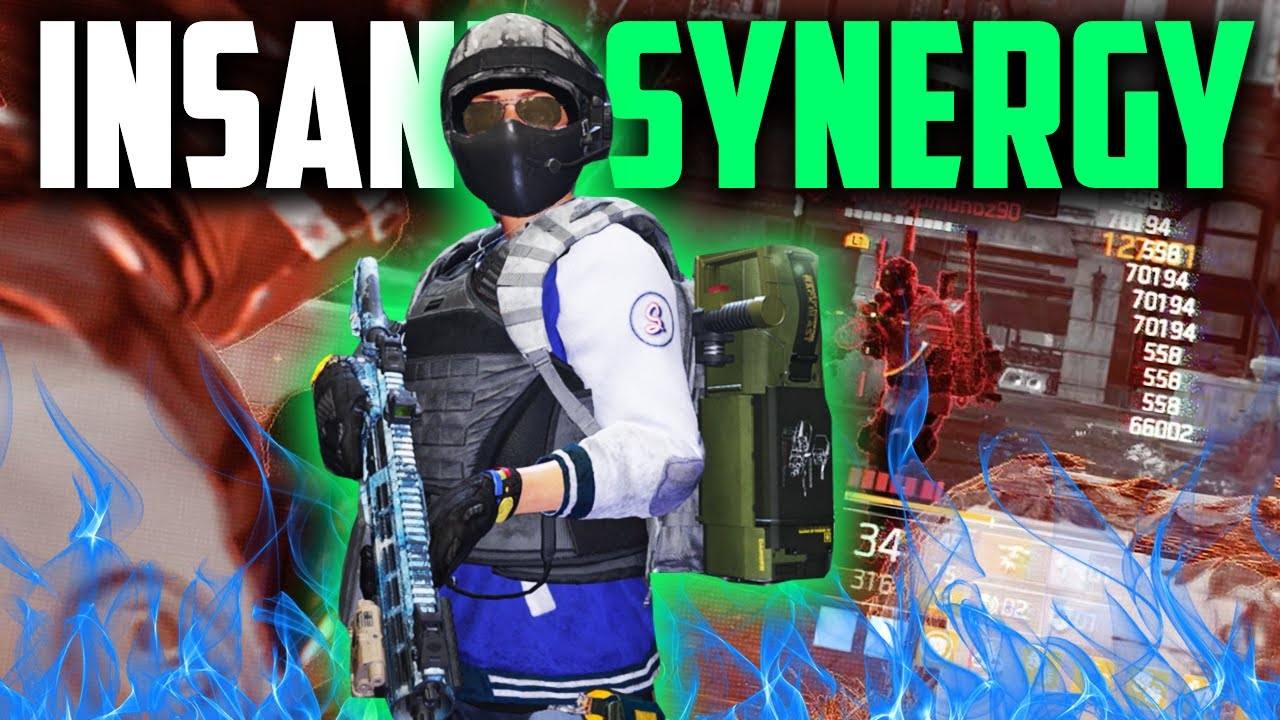 "The Division 2 - ""AMPED"" THE SYNERGY ON THIS BUILD IS CRAZY 