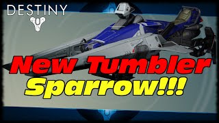 New Year 2 Upgraded Red Bull Tumbler Sparrow! Destiny Red Bull Sr-1 Swiftriver Sparrow!