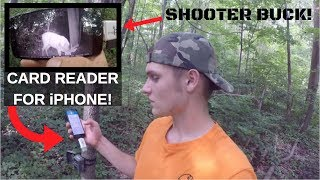 BEST CAMERA SD CARD READER FOR SMARTPHONES!!! & BIG BUCKS ON THE PROPERTY!!!
