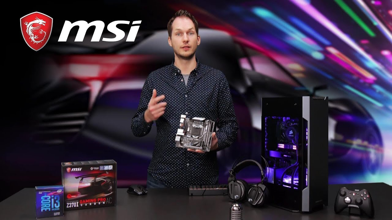 Z370I GAMING PRO CARBON AC Feature Video| Gaming Motherboard | MSI