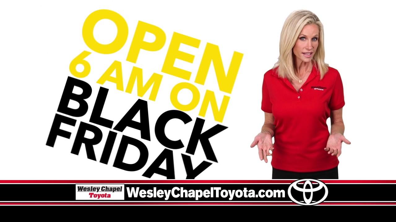 Wesley Chapel Toyota Black Friday Silent