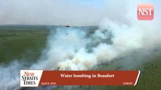 Water bombing in Beaufort