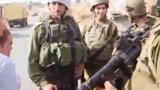 Download Video AKSI ANAK GADIS PALESTINA TERHADAP TENTARA ISRAIL MP3 3GP MP4