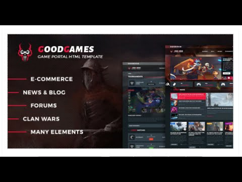 GoodGames - Portal / Store HTML Gaming Template by _nK | ThemeForest ...