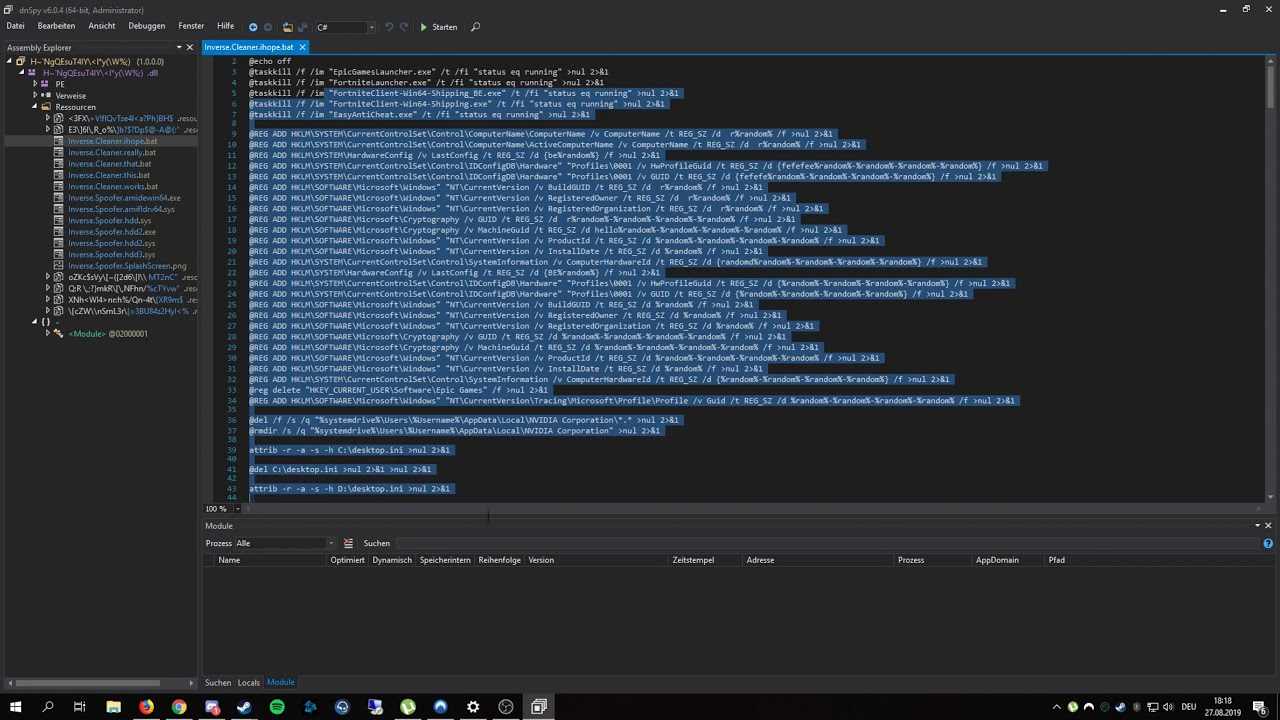 Inverse Fortnite Spoofer CRACKED AGAIN [LATEST]