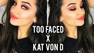 TOO FACED X KAT VON D BETTER TOGETHER MAKEUP LOOK / TUTORIAL | KatesBeautyStation