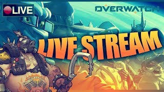 (PS4)  Road To Top 500 II | Overwatch Competitive Gameplay (Live Stream) {Season 12}