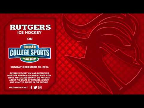 Rutgers Hockey on Sirius XM College Sports Radio