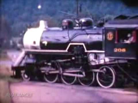 ET&WNC RR steam freight circa 1962