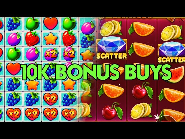 10K BUYS ON JUICY FRUITS & FRUIT PARTY! (STAKE)