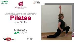 Ginnastica Salute Metodo Pilates - Livello 2 - 4 (Live)