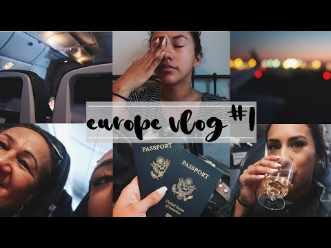 EUROPE TRAVEL VLOG!!: LOST ALL MY LUGGAGE