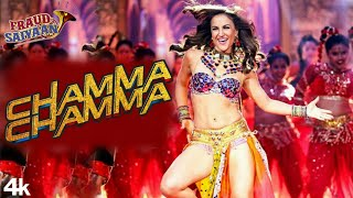 "Presenting the full video song ""chamma chamma"".from movie 'fraud saiyaan', is sung by neha kakkar, romy, arun & ikka, re-created tanishk bagc..."